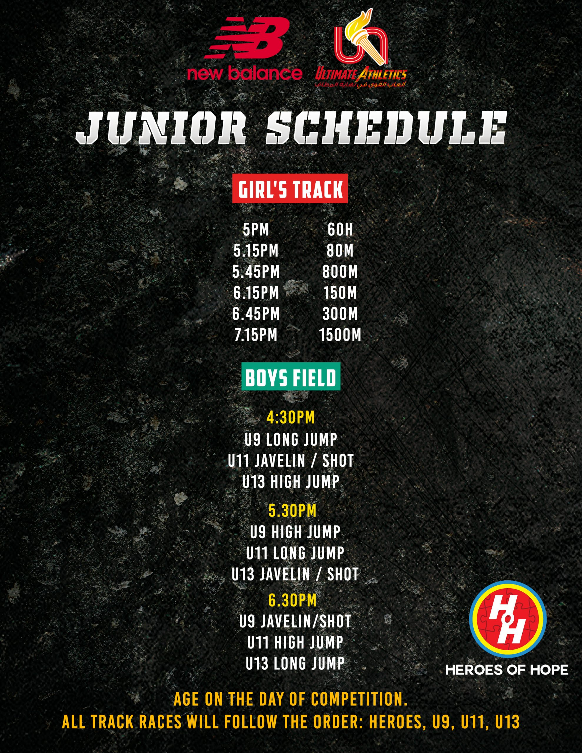 Juniors-Schedule-April-29th
